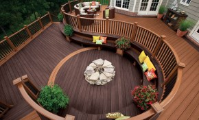 Unique Deck Design Ideas For Your Client with regard to 11 Clever Ways How to Makeover Backyard Decks Ideas