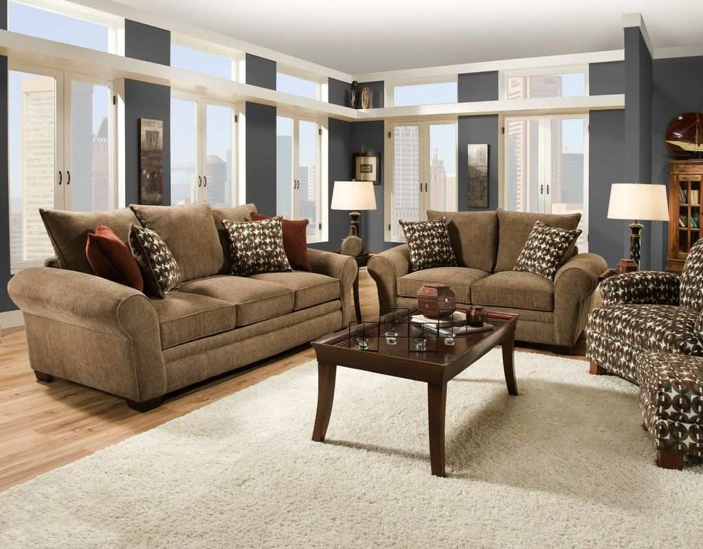 Want To Order Derick Configurable Living Room Set Red Barrel within Comfortable Living Room Sets