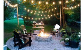 Welcome Warmer Weather With These Patio String Light Ideas Outdoor within 14 Genius Ways How to Upgrade Backyard Lighting Ideas