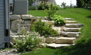 What Kind Of Landscaping For A Hill Landscaping Rochester Mn for Sloped Backyard Landscaping Ideas
