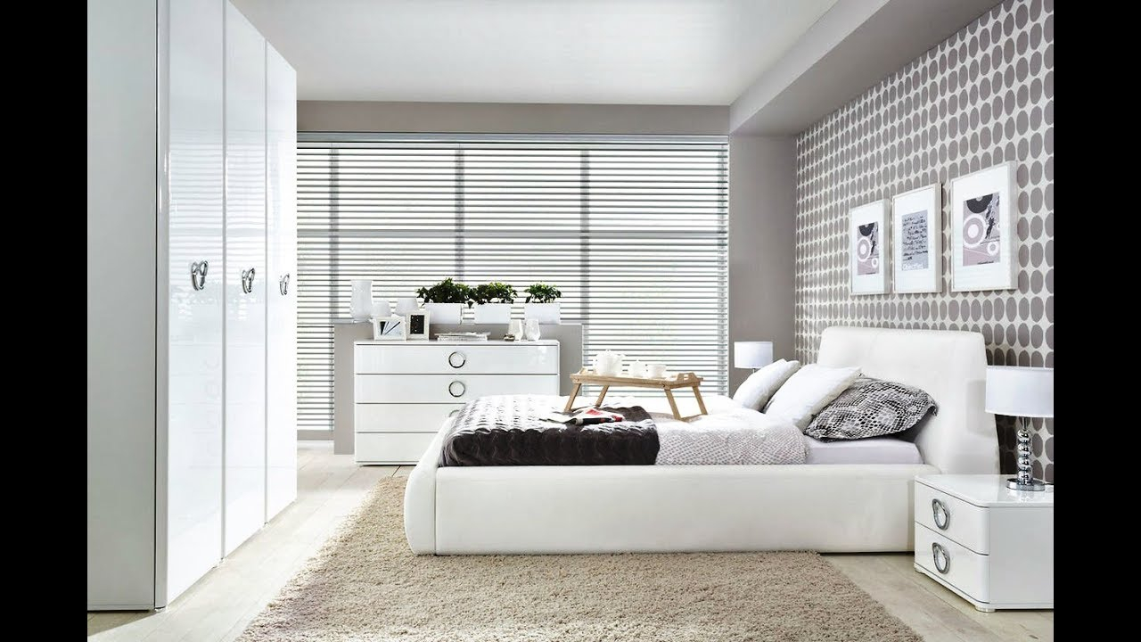White Bedroom Ideas Modern White Bedroom 2018 Youtube inside 15 Some of the Coolest Concepts of How to Makeover Modern White Bedroom Ideas