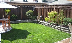 Yard Landscaping Ideas On A Budget Small Backyard Landscaping intended for Backyard Landscapes On A Budget