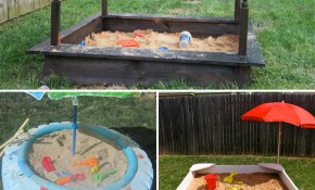 14 Cheap And Easy Diy Sandbox Ideas With Tutorials in 14 Genius Concepts of How to Upgrade Backyard Sandbox Ideas