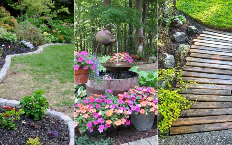 14 Cheap Landscaping Ideas Budget Friendly Landscape Tips For throughout 11 Genius Designs of How to Make Diy Backyard Landscaping On A Budget
