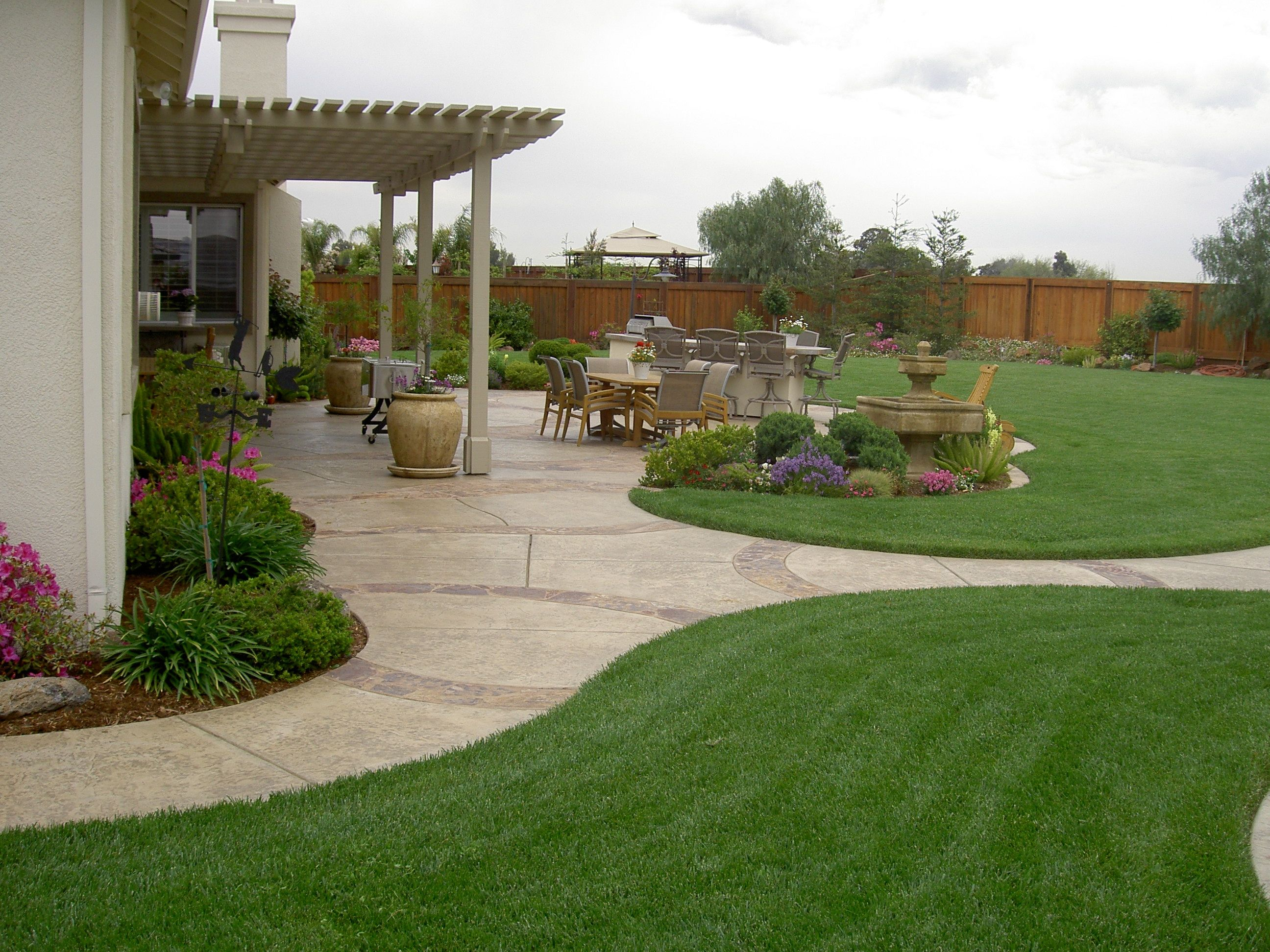 20 Awesome Landscaping Ideas For Your Backyard Gardensoutdoor inside Big Backyard Landscaping Ideas