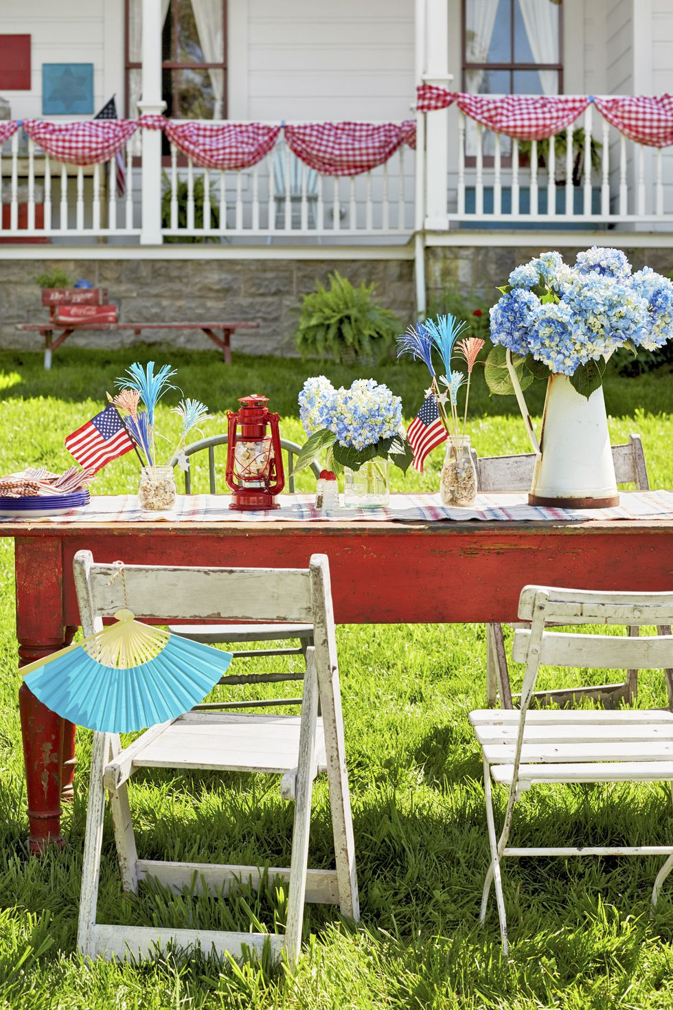 21 Best 4th Of July Party Ideas Games Diy Decor For A Fourth Of intended for Backyard Party Decorations
