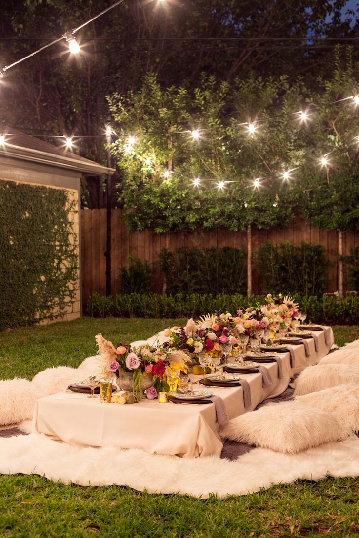 25 Best Ideas About Backyard Party Decorations On within Backyard Party Decorations