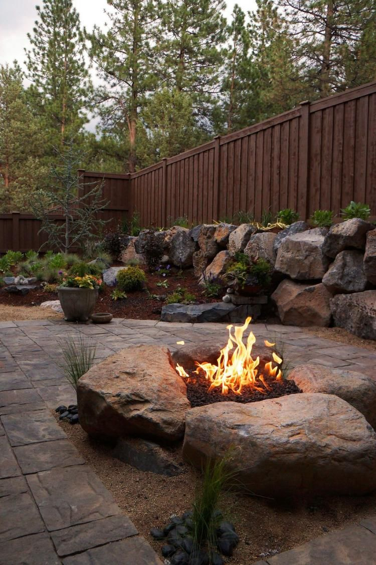 28 Interesting Backyard Fire Pit Ideas Page 12 Of 31 Outdoor in Backyard Rock Fire Pit Ideas