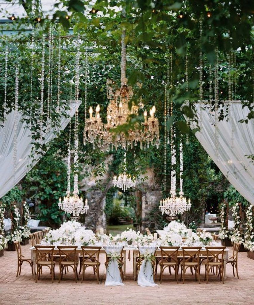 40 Romantic Backyard Wedding Decor Ideas On A Budget Weddings for 11 Awesome Concepts of How to Improve Backyard Wedding Decoration Ideas