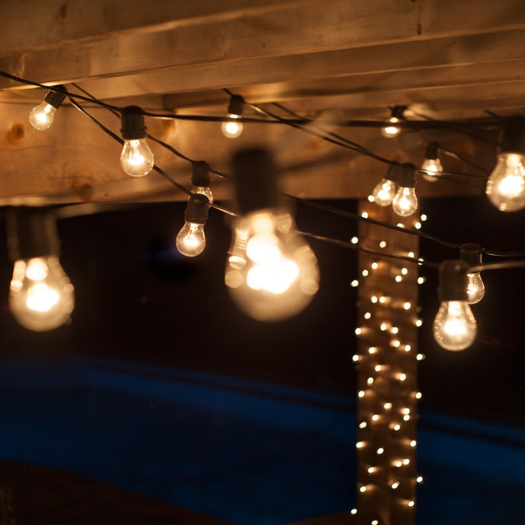 44 Comfy Decorative Patio Lighting Ideas That Will Upcycle Your Old pertaining to Backyard Decorative Lights