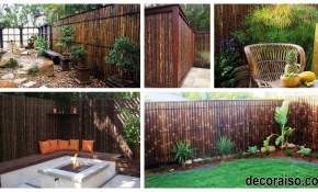 44 Modern Privacy Fence Ideas For Backyard Decoraiso throughout Backyard Privacy Fence