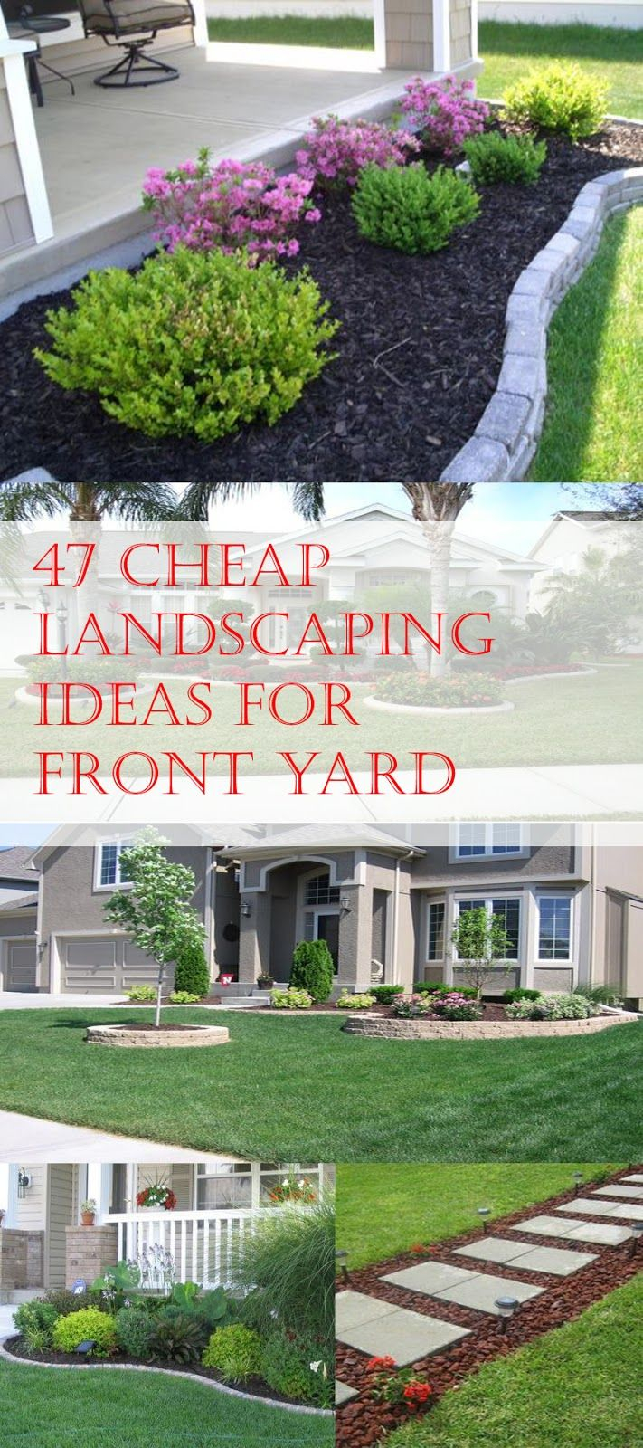 47 Cheap Landscaping Ideas For Front Yard Gardens Cheap throughout How Much Is It To Landscape A Backyard
