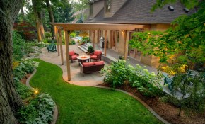 50 Backyard Landscaping Ideas To Inspire You for Landscaping Pictures Of Backyards