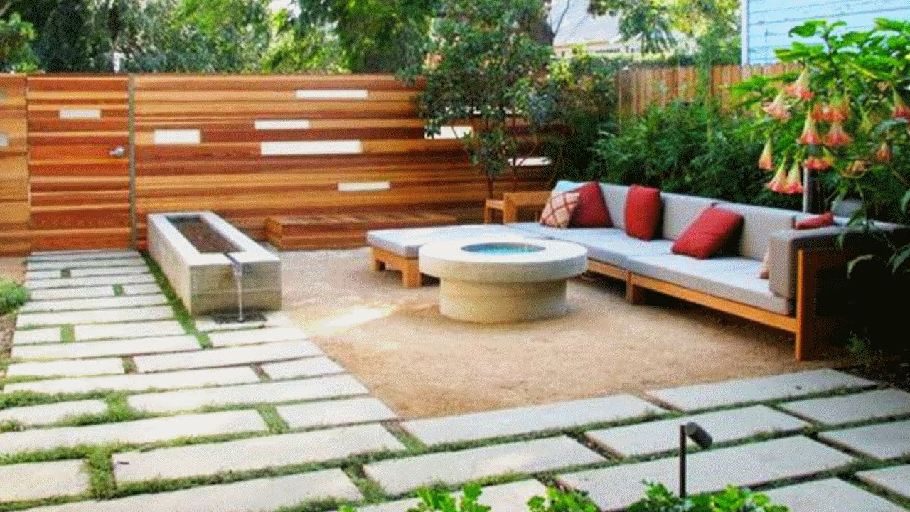 55 Front Yard And Backyard Landscaping Ideas Youtube pertaining to Landscaping Backyards