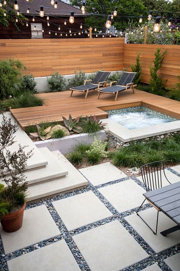 55 Good Backyard Hot Tubs Decoration Ideas Vrt Backyard Patio inside 12 Genius Designs of How to Craft Good Backyard Ideas