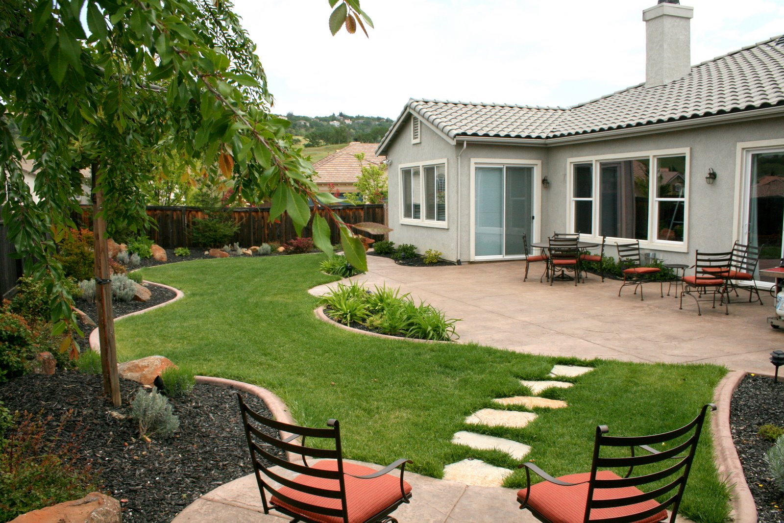 Affordable Backyard Ideas Home Interior Design 2016 in Budget Friendly Backyard Landscaping