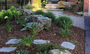Awesome 46 Awesome Front Yard Rock Garden Landscaping Ideas inside 13 Genius Designs of How to Make Backyard Rock Ideas