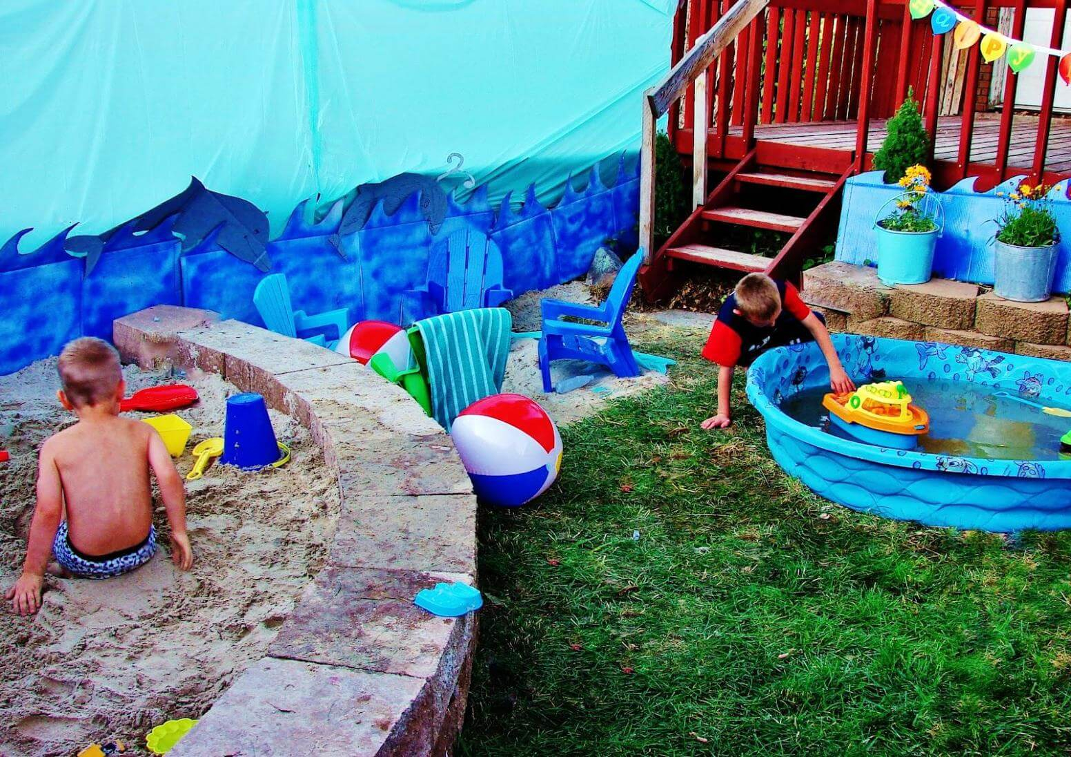 Backyard Beach Party Ideas For Kids America Underwater Decor for 14 Some of the Coolest Ways How to Makeover Beach Backyard Ideas
