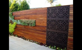 Backyard Garden Fence Ideas Youtube regarding Fence Backyard Ideas