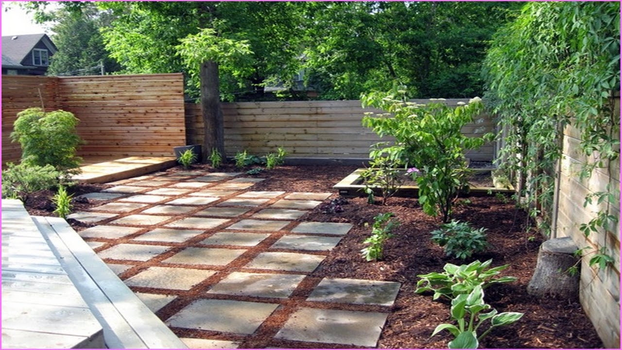 Backyard Ideas On A Budget Youtube in Landscaping Backyard On A Budget