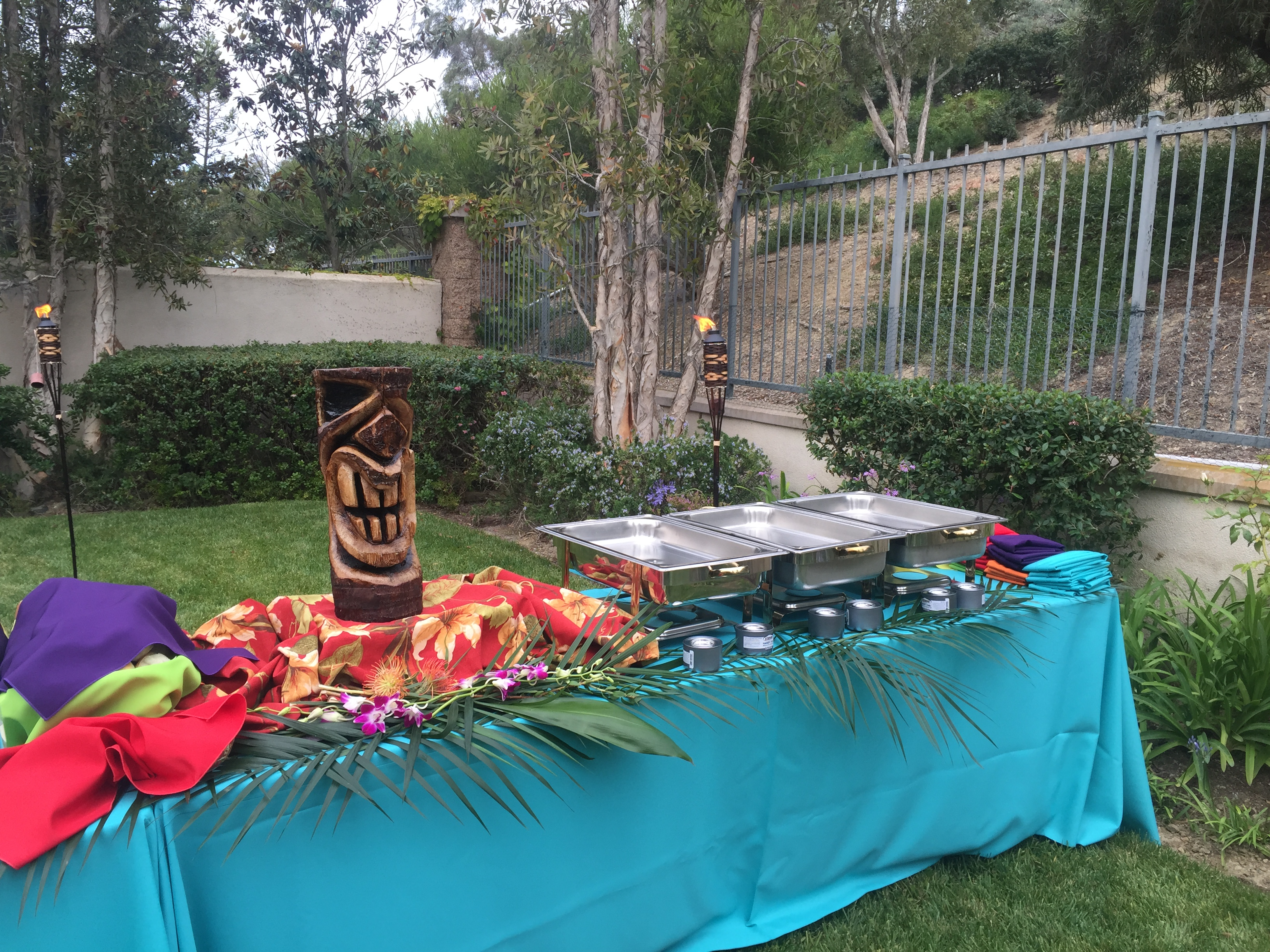 Backyard Luau At Your Service Catering Coordination Weddings in 14 Some of the Coolest Tricks of How to Improve Backyard Luau Party Ideas
