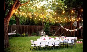 Backyard Wedding Ideas Youtube pertaining to Backyard Wedding Idea