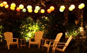 Best Outdoor String Lighting Ideas Youtube for Backyard String Lighting Ideas