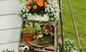 Best Vintage Garden Decor Yard Decor Garden Lawn Garden inside 15 Genius Initiatives of How to Craft Vintage Backyard Ideas