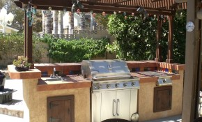 Build A Backyard Barbecue 13 Steps With Pictures pertaining to Backyard Bar And Grill Ideas