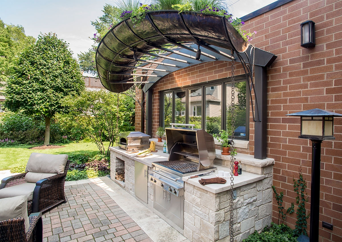Chicago Outdoor Kitchen Kalamazoo Outdoor Gourmet inside 13 Awesome Designs of How to Makeover Backyard Kitchen Design Ideas