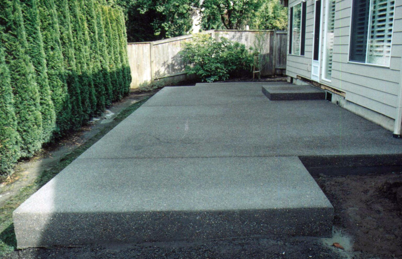 Concrete Backyard Plan Ideas Patio Backyard Porch Patio Backyard Porch with Cement Ideas For Backyard