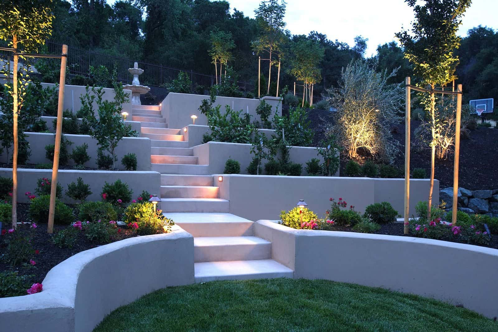 Concrete Sloped Backyard Landscaping Amazing Sloped Backyard within 15 Some of the Coolest Tricks of How to Craft Sloped Backyard Landscaping