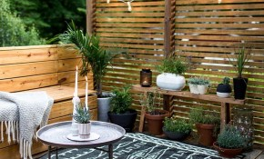 Cozy Modern Patio Dreamy Outdoor Spaces Welcome Home In 2019 for Outdoor Ideas For Backyard