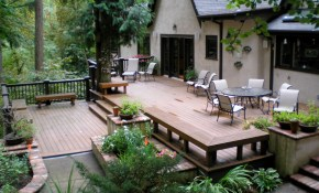 Deck Patio Ideas Small Backyards Design Idea And Decor Outdoor pertaining to Deck And Patio Ideas For Small Backyards