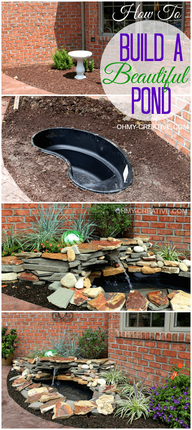 Diy Backyard Pond Ideas For Small Spaces Backyard Ponds Ponds throughout 11 Some of the Coolest Designs of How to Craft Diy Backyard Pond Ideas