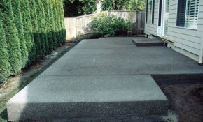 Diy Concrete Patio Ideas Patio Backyard Porch Concrete Backyard regarding 15 Smart Concepts of How to Upgrade Concrete Patio Ideas Backyard