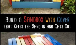 Diy Sandbox With Cover Ideas For Kids Backyard Sandbox regarding Backyard Sandbox Ideas