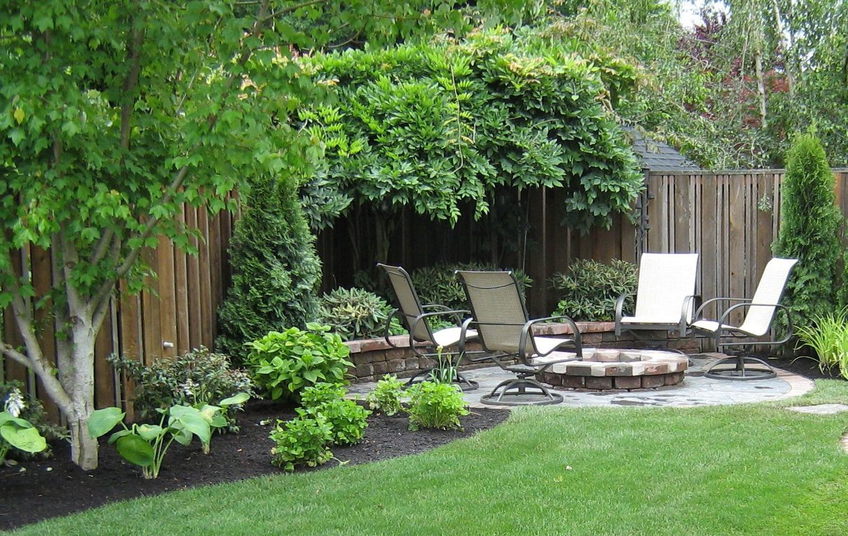 Elegant Small Backyard Patio Landscape Designs For Your Home regarding 15 Some of the Coolest Initiatives of How to Makeover How To Landscape A Small Backyard