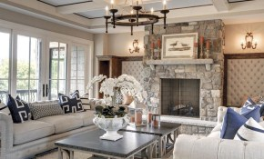 Entertainment Central In Orono Gordon James Ideas For The House regarding 15 Genius Designs of How to Upgrade Beautiful Living Room Set
