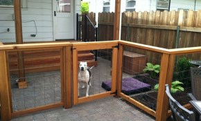 Fence Ideas For Dogs Backyard Fence Ideas To Keep Your Backyard inside 11 Clever Ways How to Improve Backyard Fencing Ideas For Dogs