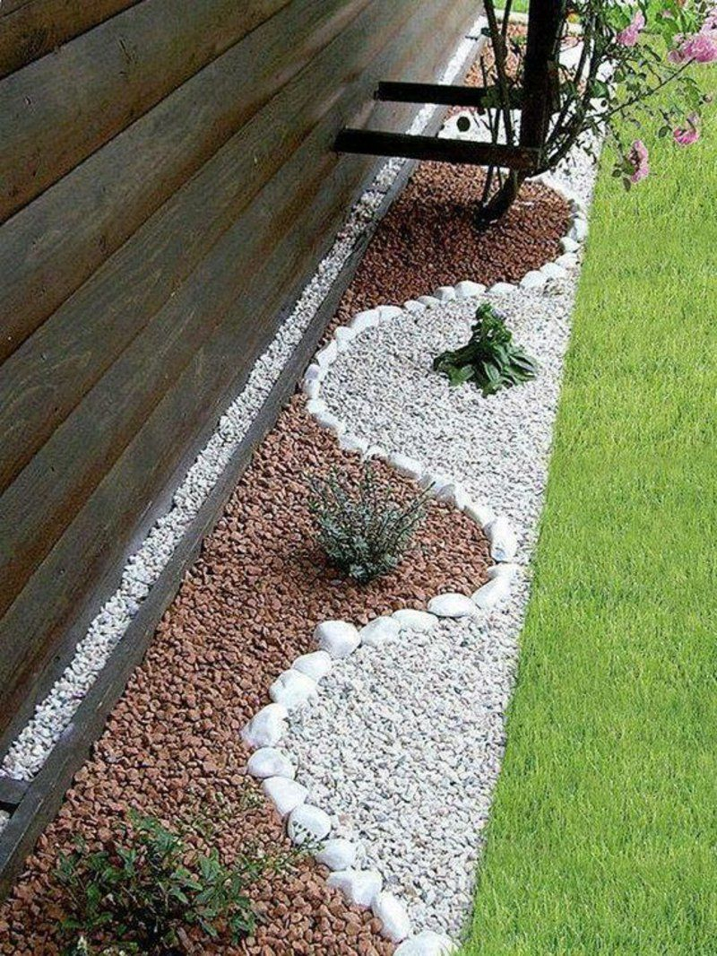 Garden Decoration With Stones For Natural Look Of The Garden pertaining to Decorative Stones For Backyard