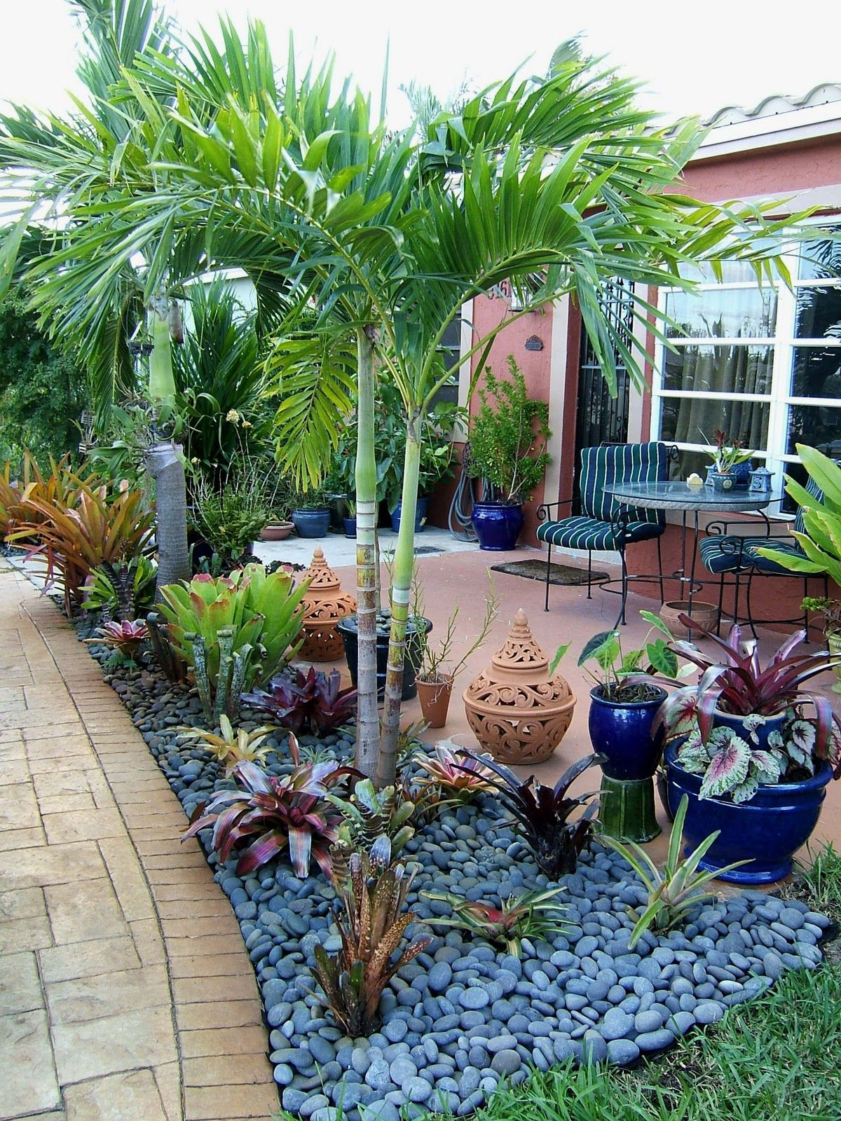 Gardening In South Florida Bromeliads In The Garden Gardening within 15 Some of the Coolest Initiatives of How to Make Florida Landscaping Ideas For Backyard