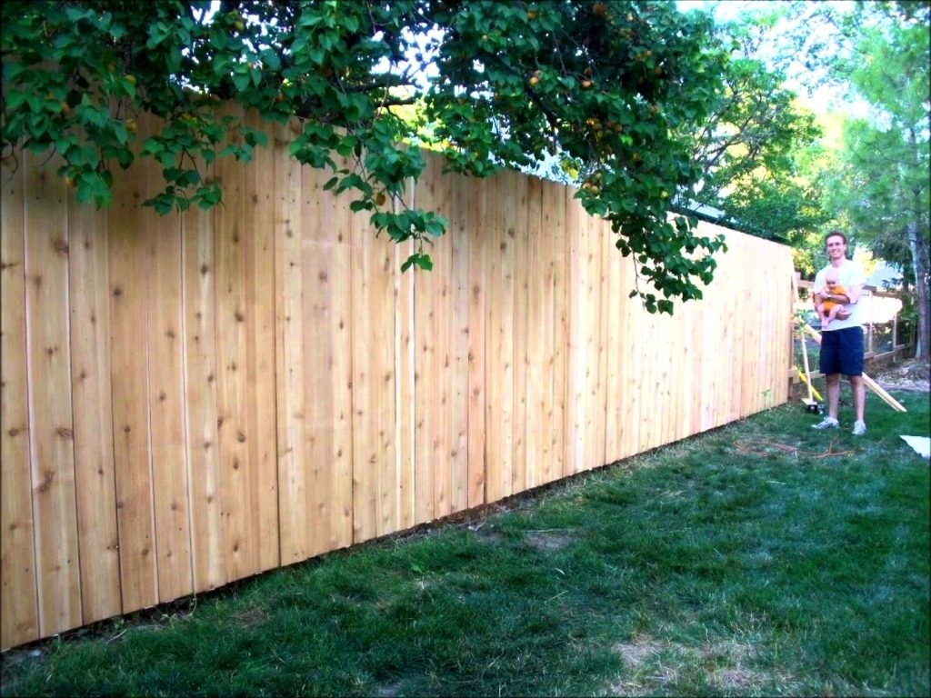 How Much Cost Fence Backyard 28 Images Wood Fence Cost inside 13 Smart Concepts of How to Makeover Cost To Fence A Backyard