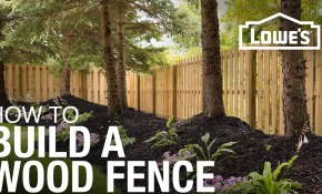 How To Build A Wood Fence Youtube intended for 16 Awesome Tricks of How to Makeover How To Build A Backyard Fence