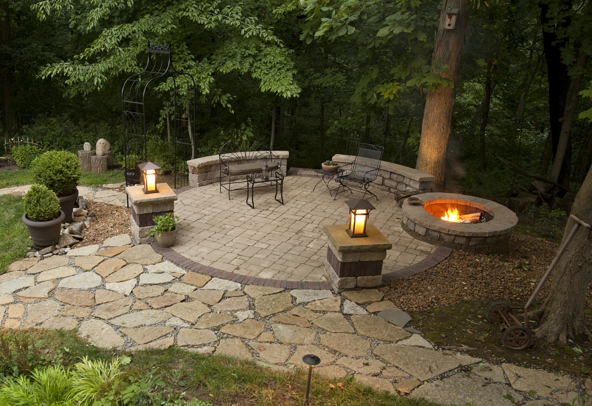 Ideas Tips Exciting Outdoor Heater Design With Fire Pit Ideas pertaining to Backyard Patio Ideas With Fire Pit