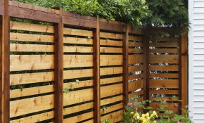 If We Ever Have To Re Build Our Fence This Style Is Awesome Our within 14 Genius Ways How to Craft Fence Backyard Ideas