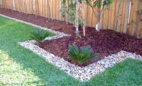 Inexpensive Landscaping Pickman Decors pertaining to Backyard Landscaping On A Budget