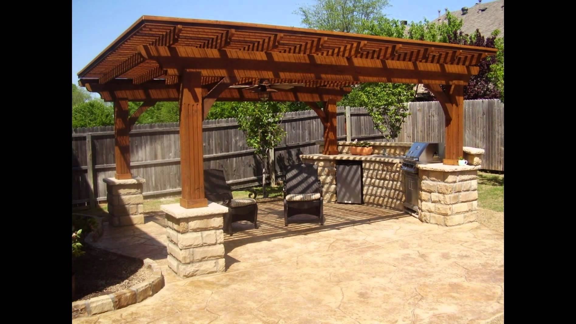 Innovative Backyard Grill Patio Ideas Bbq Designs Jeemainco within Backyard Grill Ideas