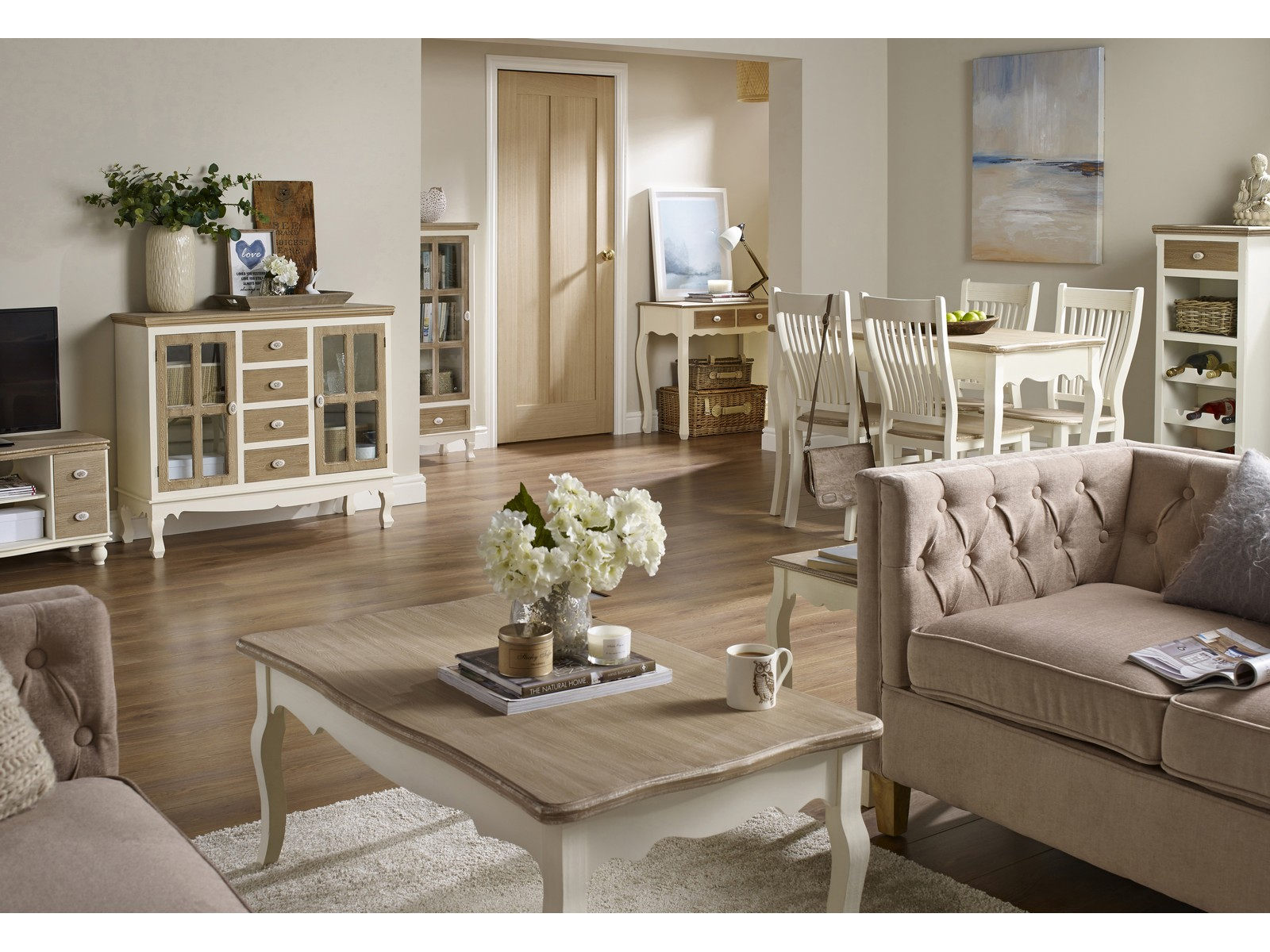 Juliette Cream Pine Living Room Furniture Tables Storage Cabinets with 10 Awesome Concepts of How to Craft Cream Living Room Set