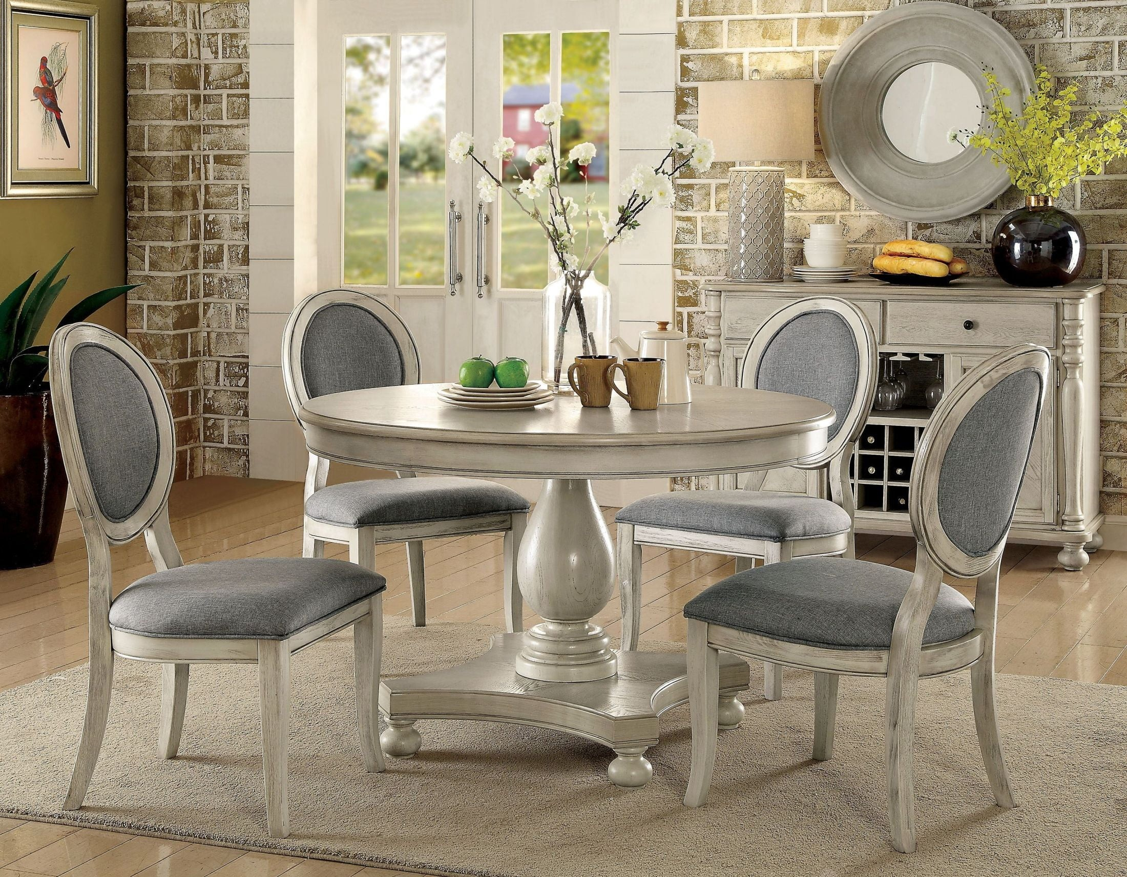 Kathryn Antique White Dining Room Set 1stopbedrooms for 13 Smart Tricks of How to Build Antique Living Room Set